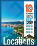 Locations LLC first place-Hawaii's Best for 8 years in a row